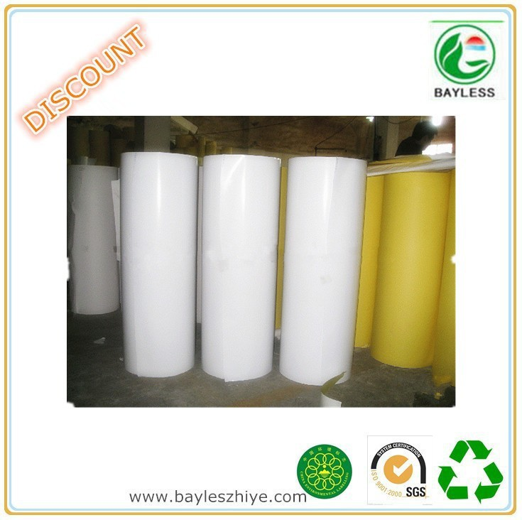 Glossy self adhesive paper rolls in hot sale