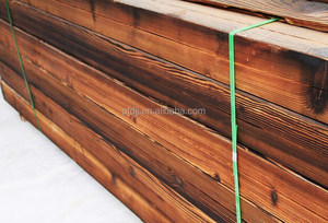 2015 carbonized timber wood