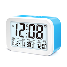 Alarm Clock LED Display Digital Calendar Time Table Alarm Clock