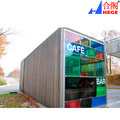 Leisure Modern Container Modular House For Cafe Bar