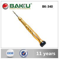 BK-340 BaKu Trox Phillips Slotted Pentagon Triangle Y Type Precision Screwdriver For Mobile Phone Screwdriver Repaire Kit Tools