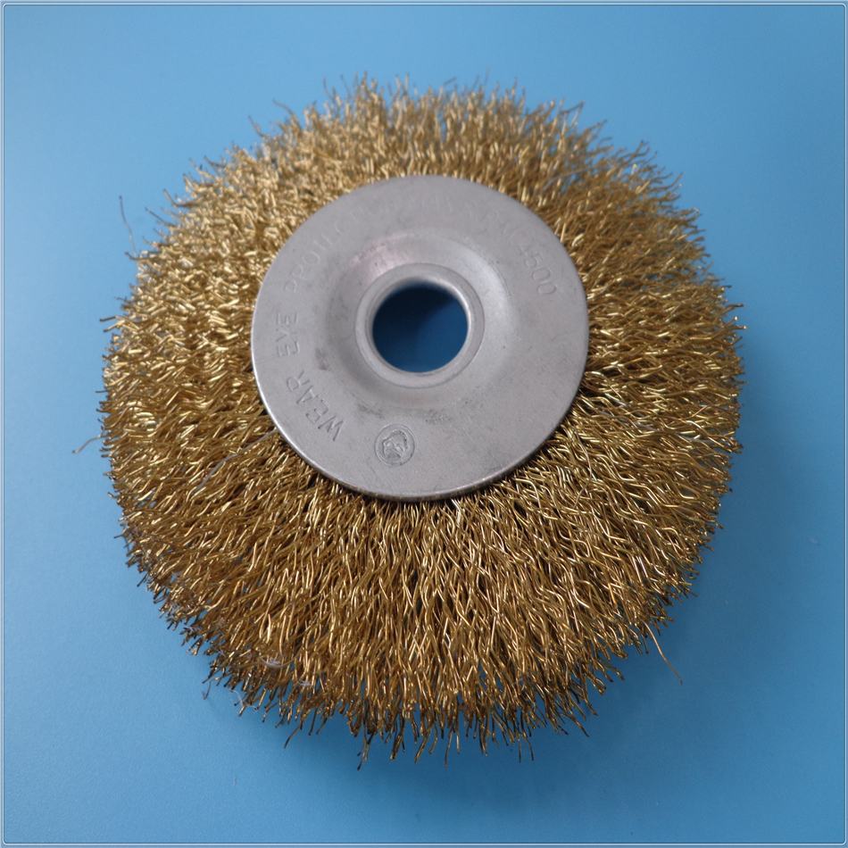 Wholesale Brass Wire Polishing Wheel Drill Brushes