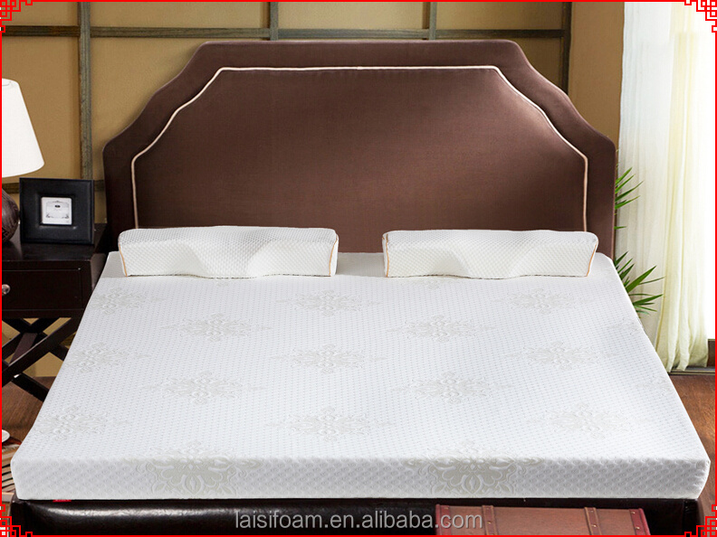 memory foam mattress for bed sponge mattress LS-M-014-D memory foam mattress roll up packing