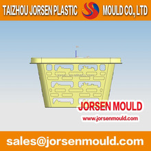 Vegetable basket plastic mold, low cost, low price order mould manufacturer free lifetime warranty.