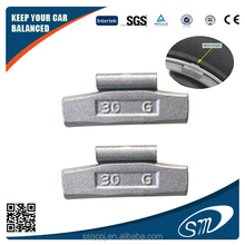 high quality Fe clip on wheel balance weights