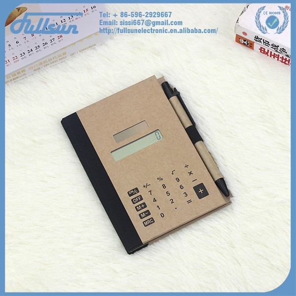 Convenient portable calculator with writing pad FS-336P