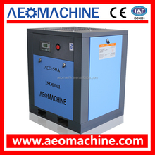37KW 50HP 7bar diesel engine belt driven air compressor portable for sale
