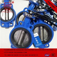 Flange tap butterfly valve