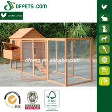 Low Cost Wooden Chicken coop with Extra Large Run