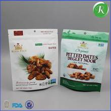 food bag three side seal bag self heating food packaging