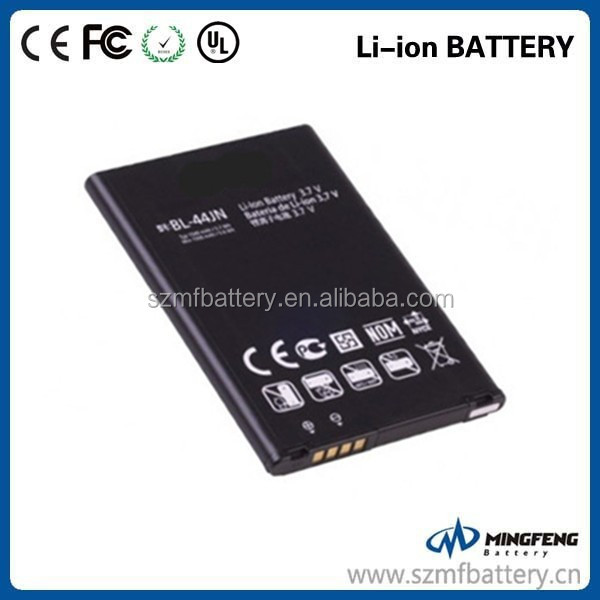 BL-44JN battery gb t18287 spice cell phone battery for LG Optimus Zone E400 Optimus L3 E400 Optimus L5 E612