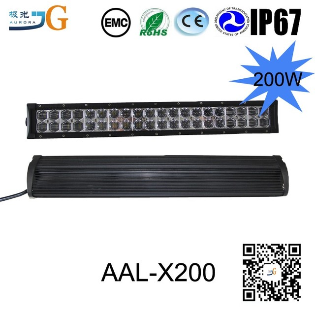 2017 auto 6d led light bar with alu firm bracket wholesale in Guangzhou