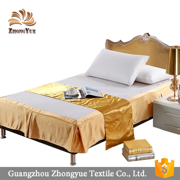 Wholesale european style plain bedspread for hotel