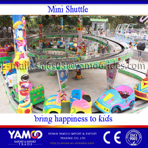 amusement park rides Indoor/outdoor playground kiddy equipment rides mini shuttle for sale