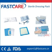 CE Sterile Disposable Medical Surgical Dressing Pack Products