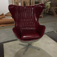 vintage industrial metal chair, Retro aviator bar egg chair K616