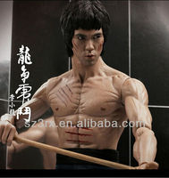 plastic bruce lee model kits, hot toys bruce lee action figure, custom made bruce lee figure