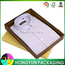 Popular box design paper packaging for shirts