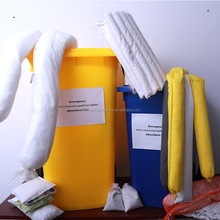 emergency oil spill control/chemical absorbent kits