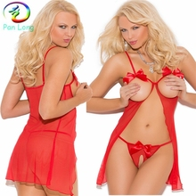 Wholesale plus size sexy mature women lingerie hot sale babydoll night wear