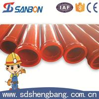 Factory directly sale Dn125*3m 20# steel 16Mn concrete pipe price