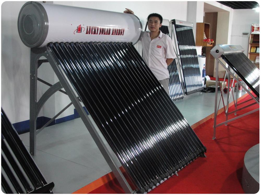 Stainless Steel Sus304 Solar Water Heater, High Quality Stainless Steel Sus304 Frame,Termos Solares Sus304 Frame And Outer Tank