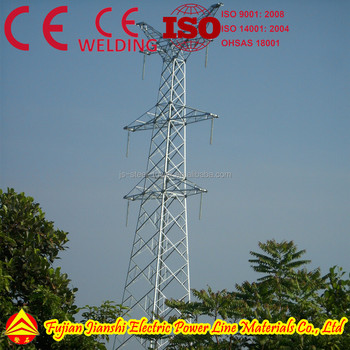 132kv transmission tower