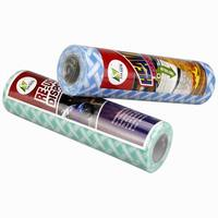 Disposabl spunlace non woven roll for cleaning