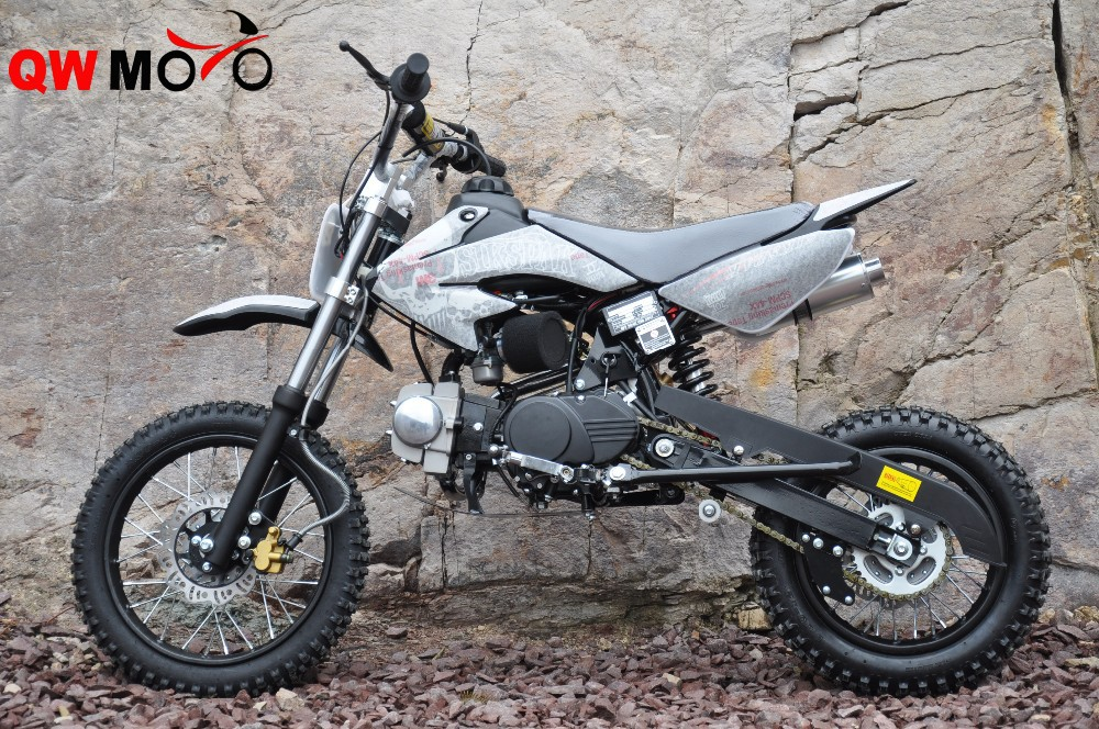 Top quality 125cc Racing Dirt Bike with Manual clutch for sale