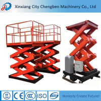 High quality mini lifting ladder with aerial maintain