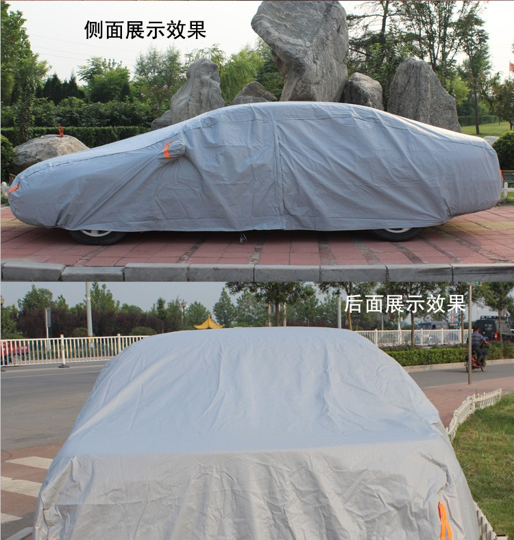 High quality!sun protection car cover , padded car cover, rain protection car cover