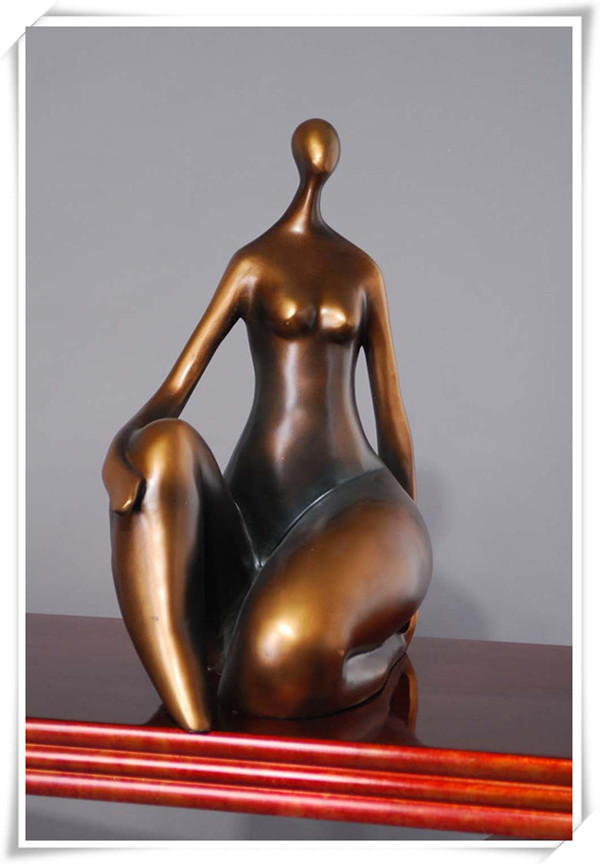 Life Size Bronze Nude Fat Lady Sculpture