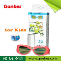 kid size active universal 3D DLP LINK glasses for projector