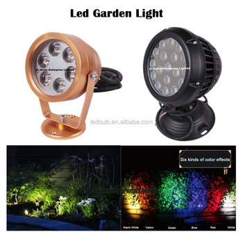 New product 6W RGB outdoor light, waterproof led light garden for lawn/wall/garden