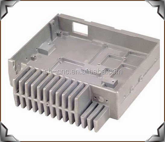 China Manufacturing CNC Milling Machined Aluminum PC Case