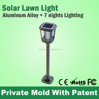 New Technology Powered Wall Garden Solar Lamp Post