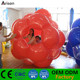Durable PVC inflatable grass rolling ball inflatable big mega giga ball inflatable knocking ball