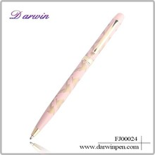 Promo Colorful Metal Ball Pens With Printed Logo For Promotional