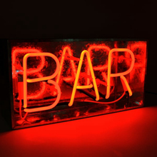 Magnetic sign board neon advertising open light box