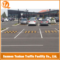 Most popular products china 1830 mm,1650 mm rubber wheel stopper,parking curb,parking stopper