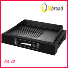 Non stick cooking surface electric grill