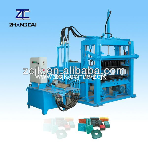 ZCJK QTY3000 vibrating table concrete for paver block making Machine