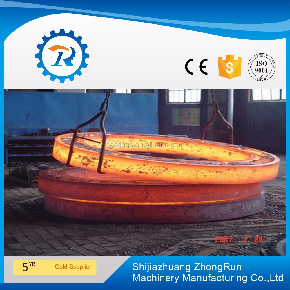 Large 7050 aluminum ring rolled forgings