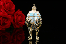 Free samples available Small wholesale new arrive faberge egg metal jewelry boxes