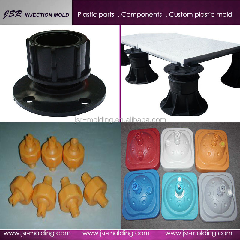 Wholesale! High Quality and Factory Price Customized Adjustable Plastic Pedestal Made in China