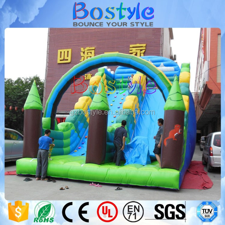 Factory direct inflatable slide,inflatable slide combo ,inflatable jumping bouncer for sale