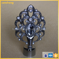 diamond style stage curtain poles for interor decoration