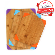 China Supplier New Desgin Edge-preserving Bamboo Chopping Rectangle Cutting Board Blanks