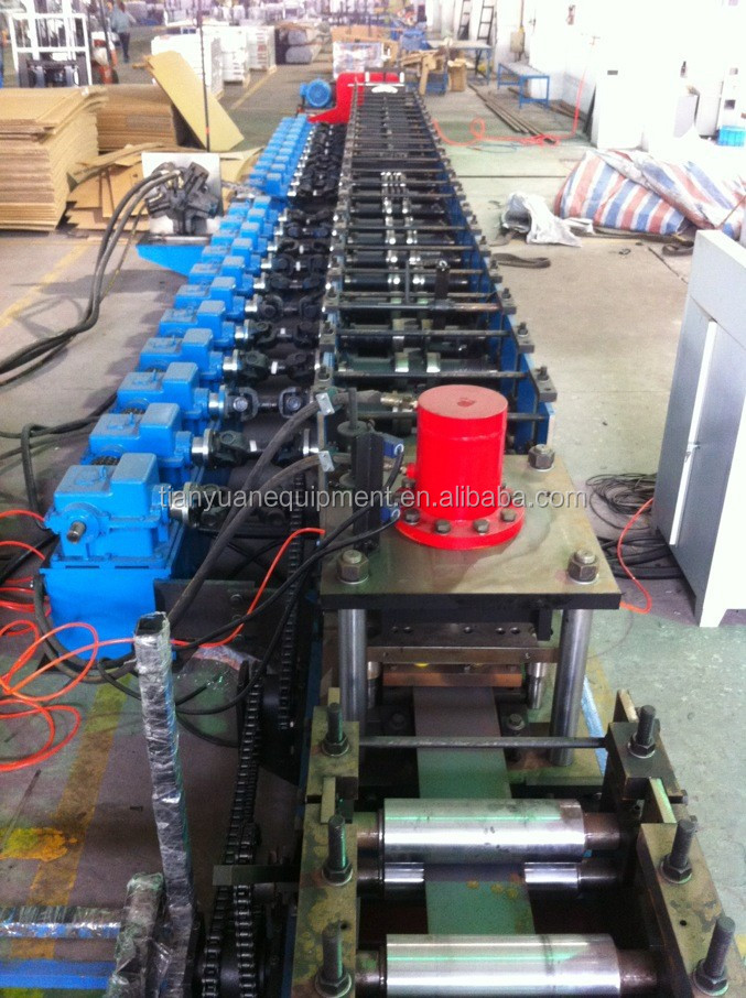 u purline cold roll forming machine made by TIANYUAN