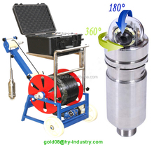Underwater Video Camera and Underwater Well Inspection Camera for Drilling Holes, Water Wells Inspection